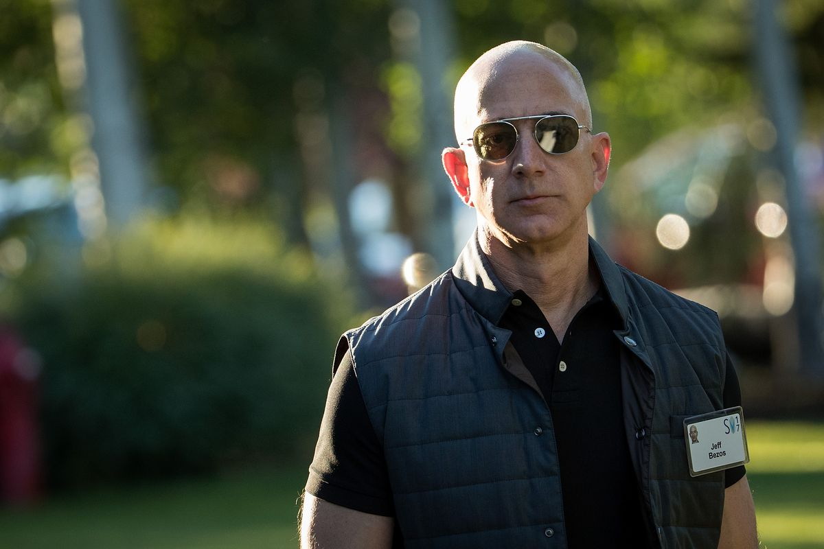 What is Jeff Bezos' net worth?